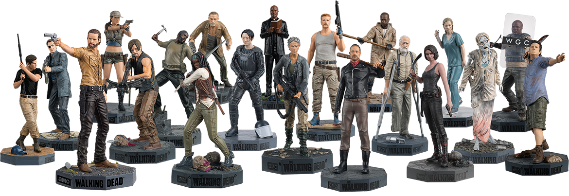the walking dead collector s models